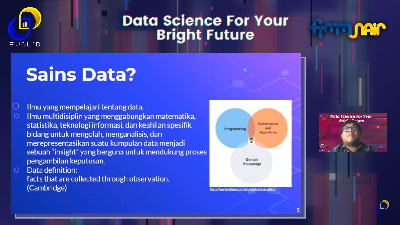 Data Science for Your Bright Future: Teknologi Sains Data, Program Studi baru di UNAIR dan Pertama di Indonesia yang Ngetrend di Dunia Internasional
